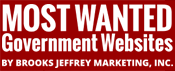Most Wanted Government Websites